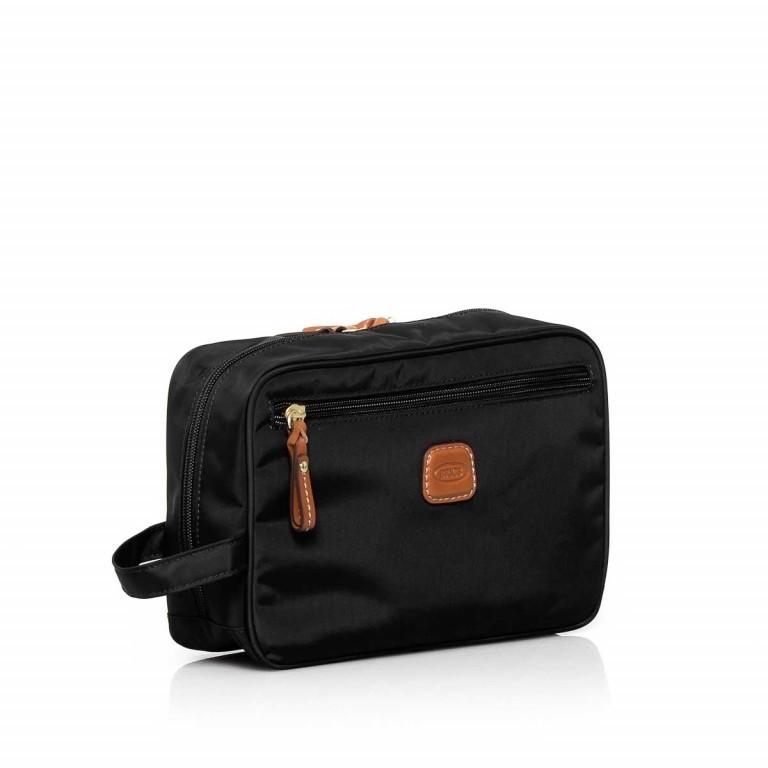 Brics X-Bag Kulturbeutel BXG3060 Schwarz, Farbe: schwarz, Marke: Brics, Abmessungen in cm: 25.0x17.0x9.0, Bild 2 von 3