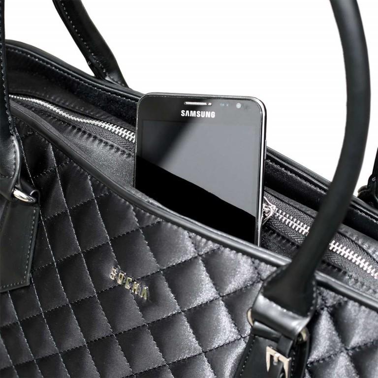 Socha Business Bag Black Diamond Facelift, Farbe: schwarz, Marke: Socha, EAN: 4029276048307, Abmessungen in cm: 43.0x32.0x14.0, Bild 5 von 6