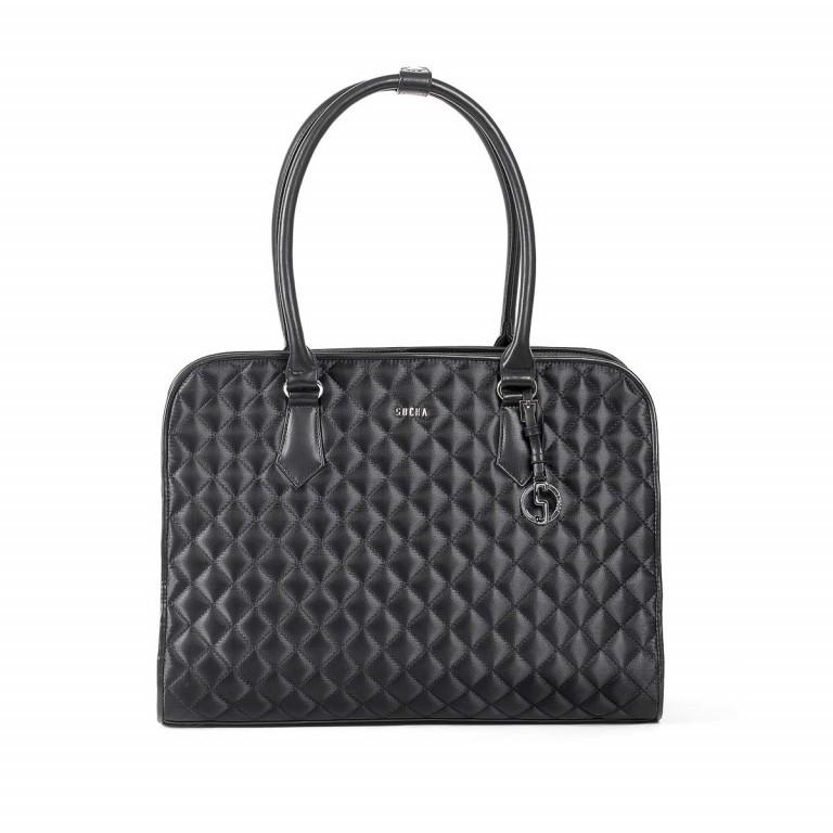 Socha Business Bag Black Diamond Facelift, Farbe: schwarz, Marke: Socha, EAN: 4029276048307, Abmessungen in cm: 43.0x32.0x14.0, Bild 1 von 6
