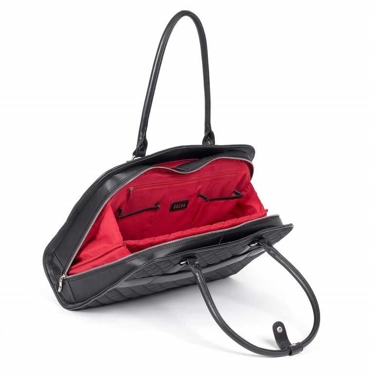 Socha Business Bag Black Diamond Facelift, Farbe: schwarz, Marke: Socha, EAN: 4029276048307, Abmessungen in cm: 43.0x32.0x14.0, Bild 4 von 6