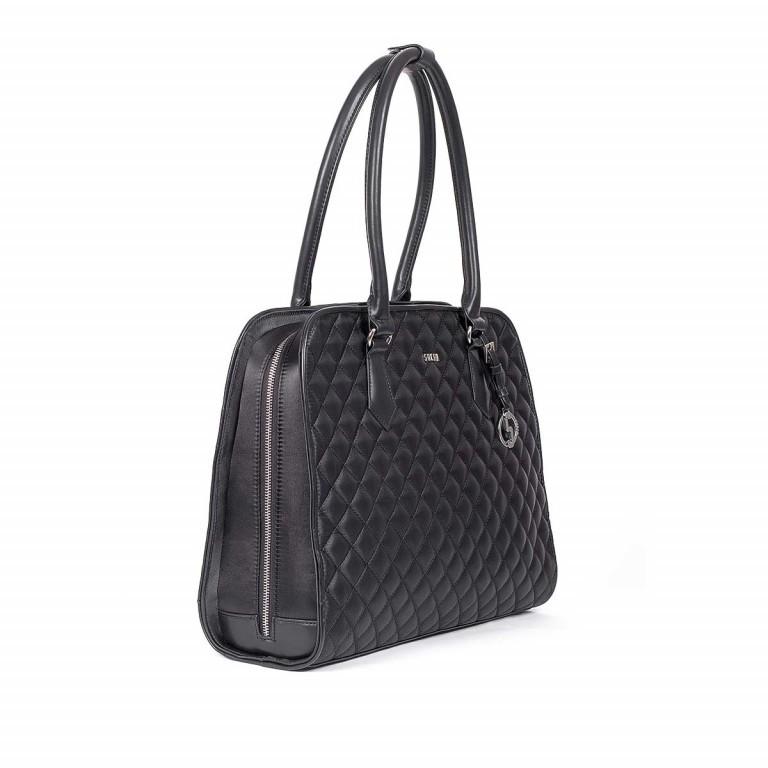 Socha Business Bag Black Diamond Facelift, Farbe: schwarz, Marke: Socha, EAN: 4029276048307, Abmessungen in cm: 43.0x32.0x14.0, Bild 2 von 6