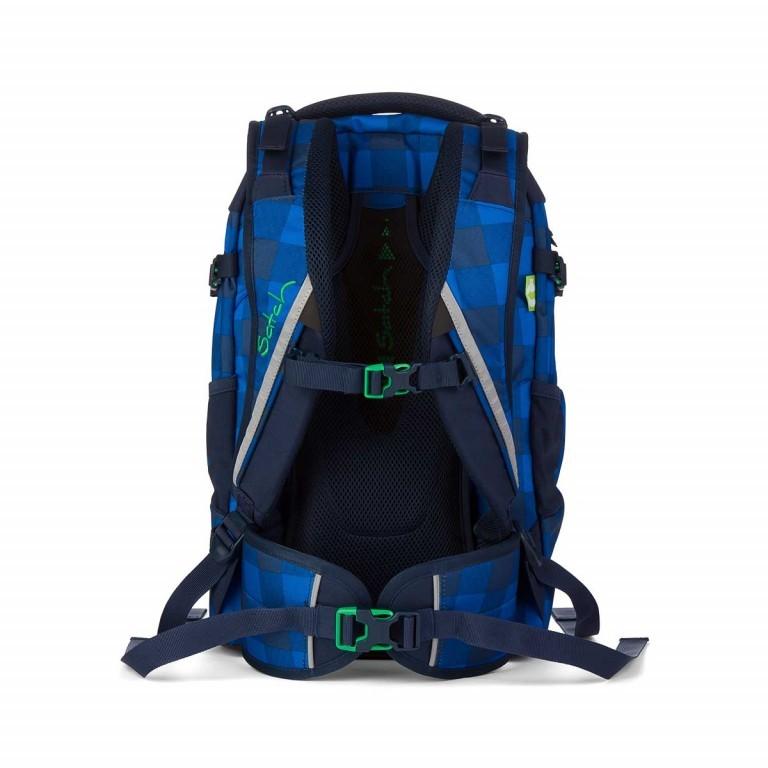 Satch Pack Rucksack Bluetwist, Farbe: blau/petrol, Marke: Satch, EAN: 4260389762142, Abmessungen in cm: 30.0x45.0x22.0, Bild 3 von 3