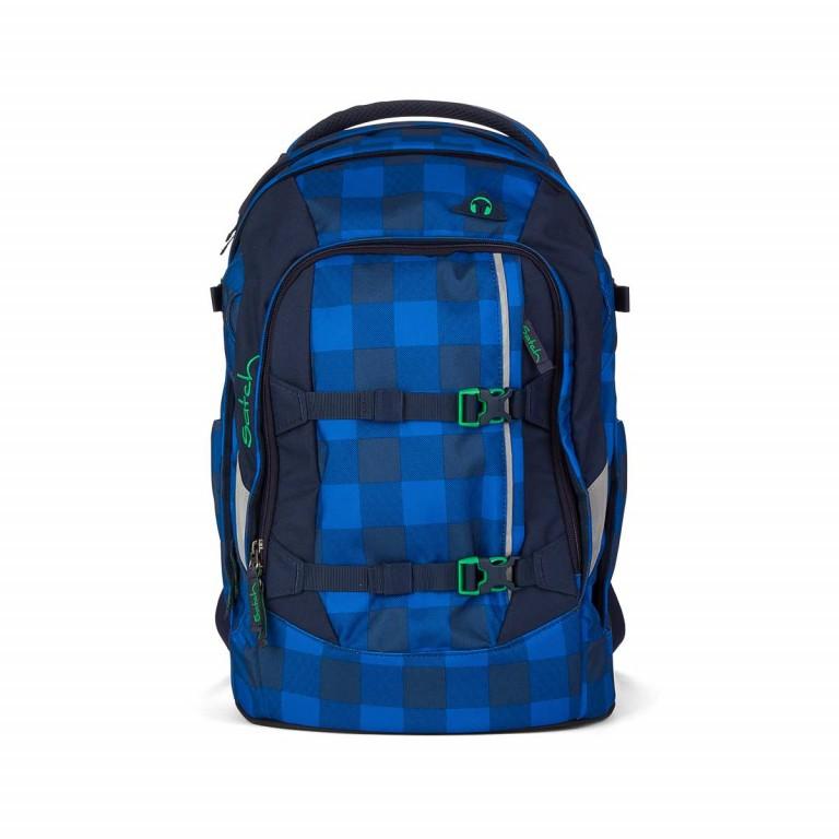Satch Pack Rucksack Bluetwist, Farbe: blau/petrol, Marke: Satch, EAN: 4260389762142, Abmessungen in cm: 30.0x45.0x22.0, Bild 1 von 3