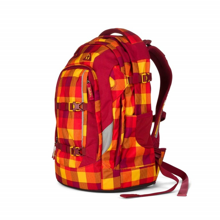 Satch Pack Rucksack Firecracker, Farbe: orange, Manufacturer: Satch, EAN: 4260389762135, Dimensions (cm): 30.0x45.0x22.0, Image 2 of 3
