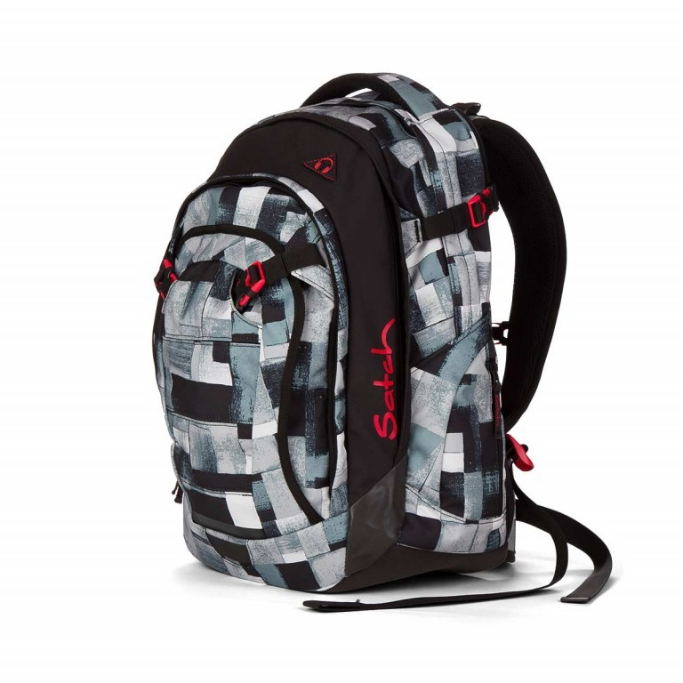 Satch Match Rucksack City Fitty, Farbe: grau, Manufacturer: Satch, EAN: 4260389762197, Image 2 of 5