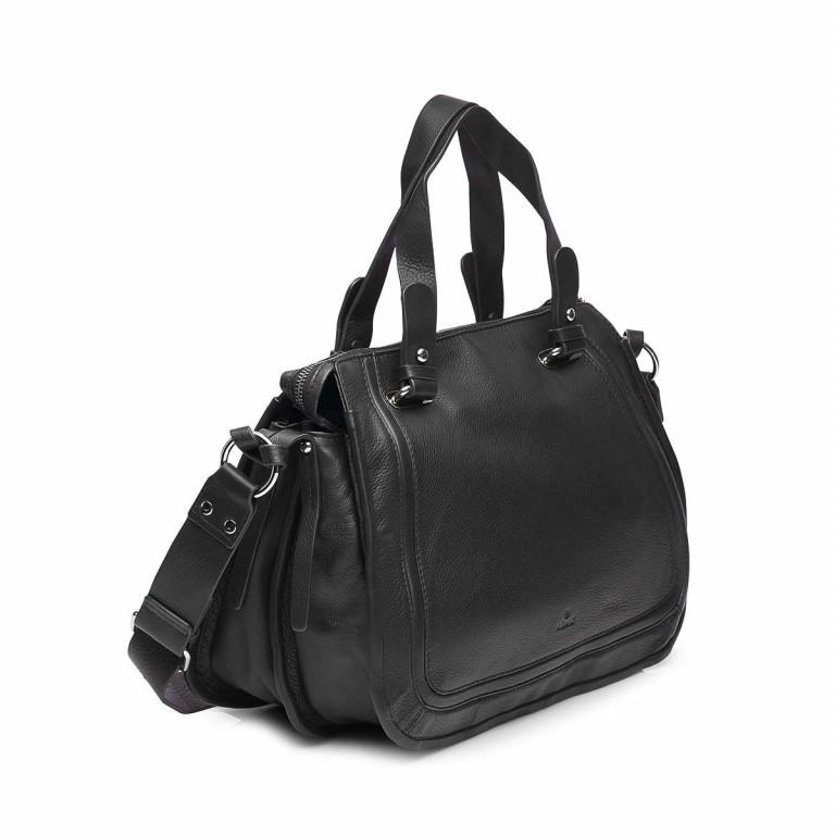 Adax Sorano 231794 Shopper Black, Farbe: schwarz, Marke: Adax, EAN: 5705483167114, Abmessungen in cm: 37.0x29.0x16.0, Bild 2 von 3
