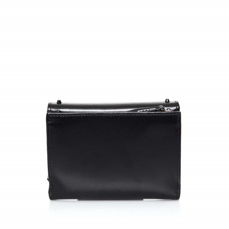 Bugatti Obsession Damenbörse Überschlag Reißverschluss Leder Black, Farbe: schwarz, Marke: Cavalli, Abmessungen in cm: 13.0x9.5x4.5, Bild 3 von 3