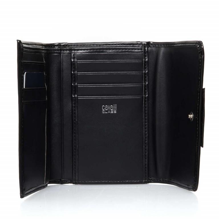Bugatti Obsession Damenbörse Überschlag Reißverschluss Leder Black, Farbe: schwarz, Marke: Cavalli, Abmessungen in cm: 13.0x9.5x4.5, Bild 2 von 3