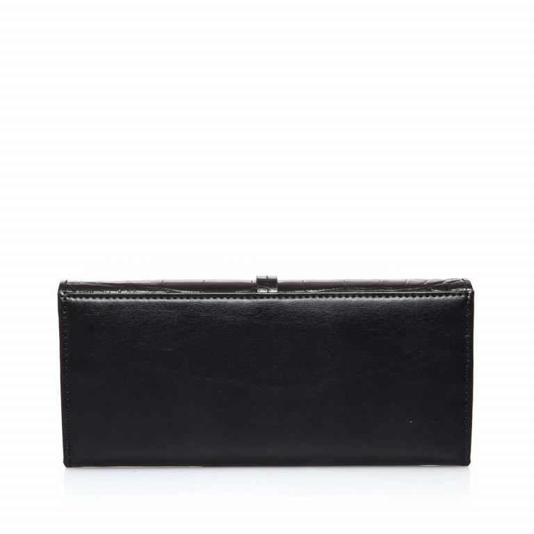Cavalli Black Daphne 759 Flachbörse Überschlag Leder Black, Farbe: schwarz, Marke: Cavalli, Abmessungen in cm: 19.0x8.5x3.0, Bild 3 von 3