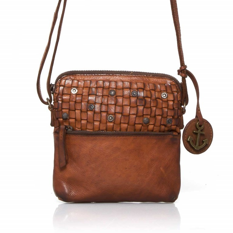 HARBOUR2nd Crossbag Selma Cognac, Farbe: cognac, Manufacturer: Harbour 2nd, Dimensions (cm): 19.0x20.0x3.0, Image 1 of 3