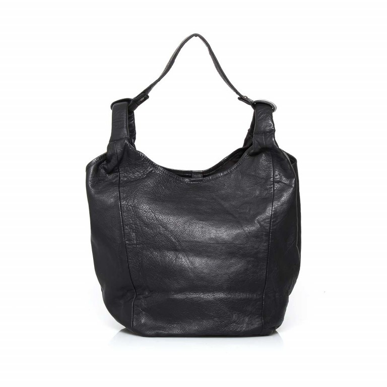 Anokhi Leder-Shopper Cheyenne Black, Farbe: schwarz, Marke: Anokhi, Abmessungen in cm: 41.0x33.0x23.0, Bild 1 von 2