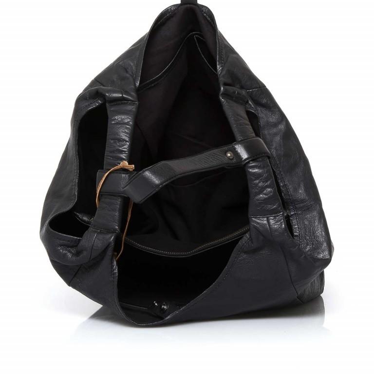 Anokhi Leder-Shopper Cheyenne Black, Farbe: schwarz, Marke: Anokhi, Abmessungen in cm: 41.0x33.0x23.0, Bild 2 von 2