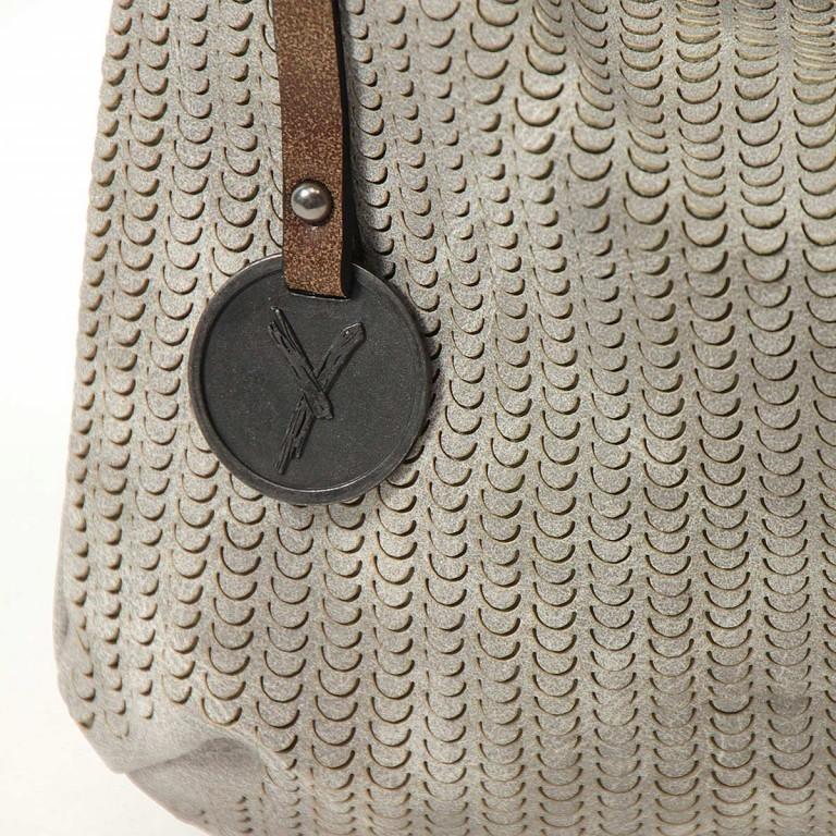 SURI FREY Ruby Beutel Reißverschluss Synthetik Light Grey, Farbe: grau, Marke: Suri Frey, Abmessungen in cm: 28.0x25.0x4.0, Bild 5 von 6