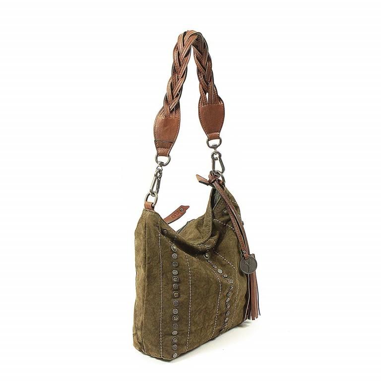 SURI FREY Nelly Tasche Canvas Khaki, Farbe: taupe/khaki, Marke: Suri Frey, Abmessungen in cm: 27.0x27.0x8.0, Bild 2 von 7