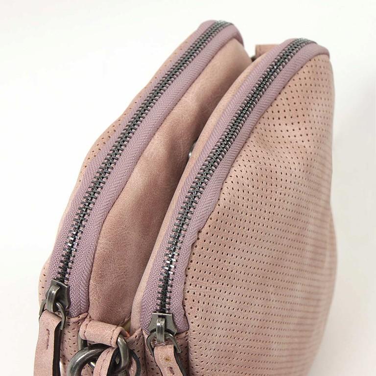 SURI FREY Romy Crossbag S Reißverschluss Synthetik Rose, Farbe: rosa/pink, Marke: Suri Frey, Abmessungen in cm: 19.0x20.0x6.0, Bild 3 von 6
