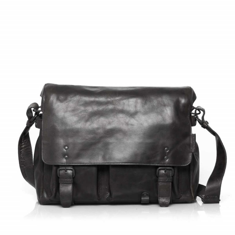 Aunts & Uncles Workmates Workaholic Leder Black, Farbe: schwarz, Marke: Aunts & Uncles, Abmessungen in cm: 40.0x30.0x13.0, Bild 1 von 5