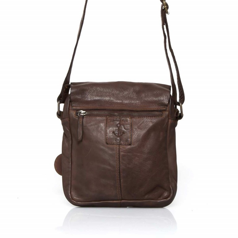 HARBOUR2nd Crossbag Urd Brown, Farbe: braun, Marke: Harbour 2nd, Abmessungen in cm: 20.5x24.0x5.0, Bild 5 von 5