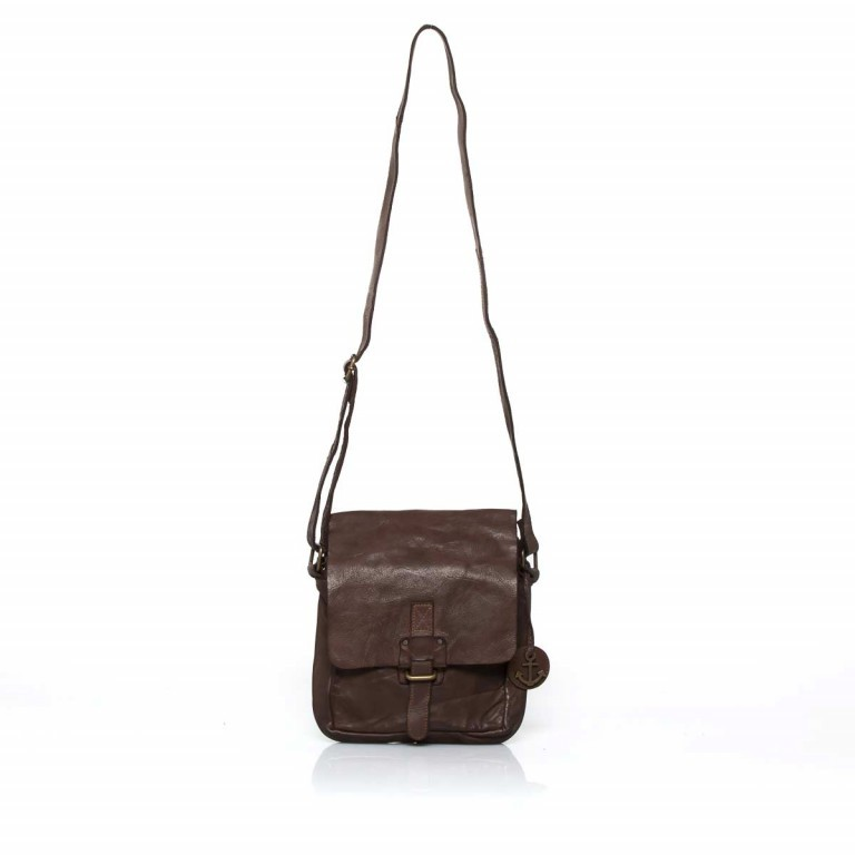 HARBOUR2nd Crossbag Urd Brown, Farbe: braun, Marke: Harbour 2nd, Abmessungen in cm: 20.5x24.0x5.0, Bild 2 von 5