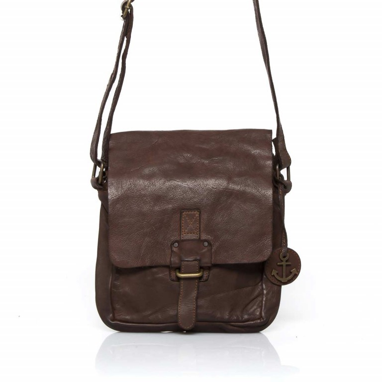 HARBOUR2nd Crossbag Urd Brown, Farbe: braun, Marke: Harbour 2nd, Abmessungen in cm: 20.5x24.0x5.0, Bild 1 von 5