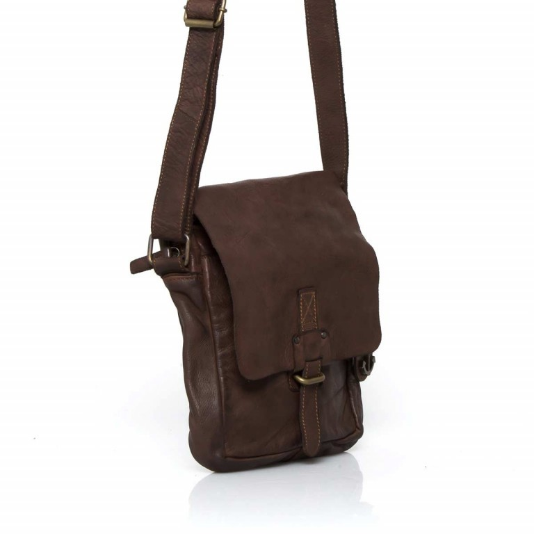 HARBOUR2nd Crossbag Urd Brown, Farbe: braun, Marke: Harbour 2nd, Abmessungen in cm: 20.5x24.0x5.0, Bild 3 von 5