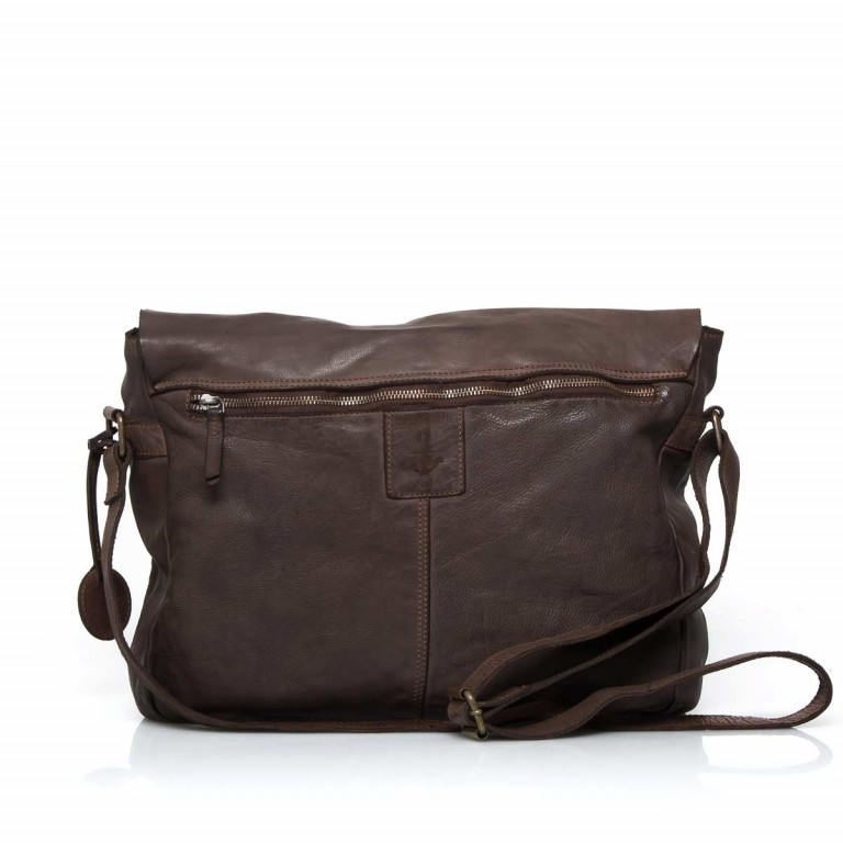 HARBOUR2nd Messenger Bag Yamal Brown, Farbe: braun, Marke: Harbour 2nd, Abmessungen in cm: 37.0x30.0x9.0, Bild 4 von 4