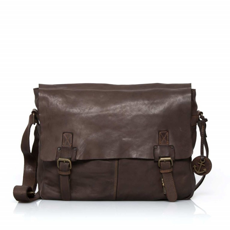 HARBOUR2nd Messenger Bag Yamal Brown, Farbe: braun, Marke: Harbour 2nd, EAN: 4046478021778, Abmessungen in cm: 37.0x30.0x9.0, Bild 1 von 4