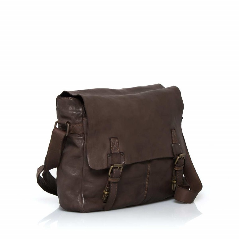 HARBOUR2nd Messenger Bag Yamal Brown, Farbe: braun, Marke: Harbour 2nd, EAN: 4046478021778, Abmessungen in cm: 37.0x30.0x9.0, Bild 2 von 4