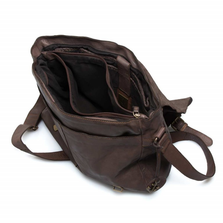 HARBOUR2nd Messenger Bag Yamal Brown, Farbe: braun, Marke: Harbour 2nd, EAN: 4046478021778, Abmessungen in cm: 37.0x30.0x9.0, Bild 3 von 4