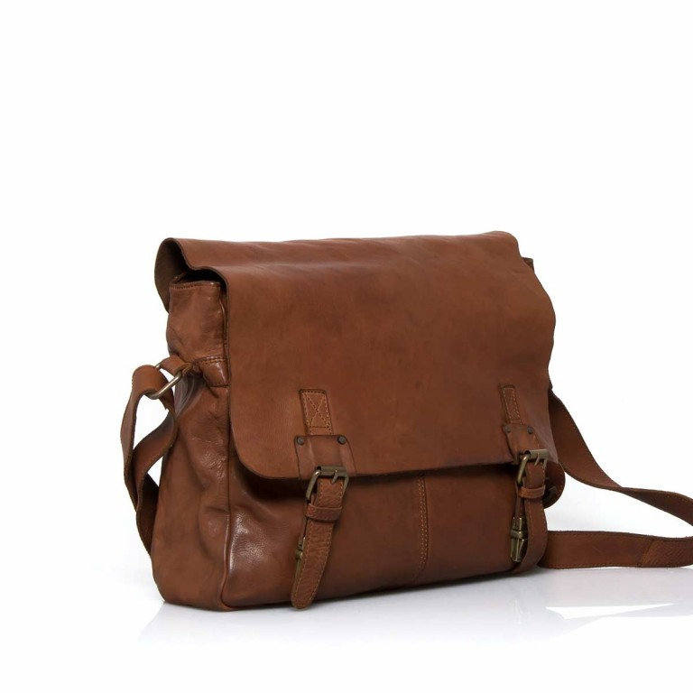 HARBOUR2nd Messenger Bag Yamal Cognac, Farbe: cognac, Manufacturer: Harbour 2nd, Dimensions (cm): 37.0x30.0x9.0, Image 2 of 4