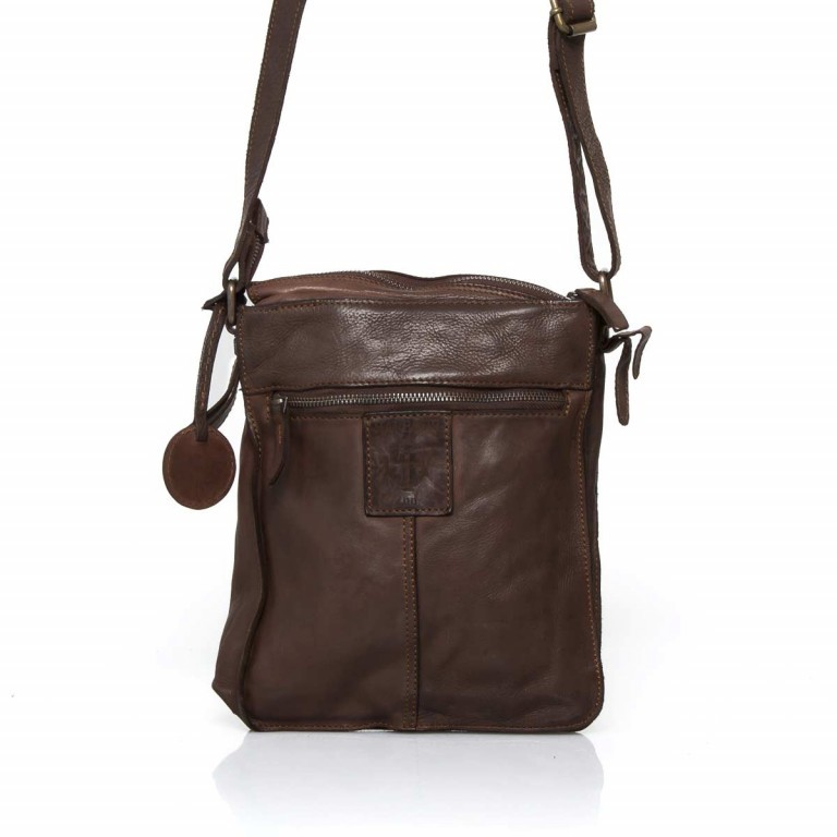 HARBOUR2nd Crossbag Jörmi Brown, Farbe: braun, Manufacturer: Harbour 2nd, Dimensions (cm): 21.0x26.0x6.0, Image 5 of 5