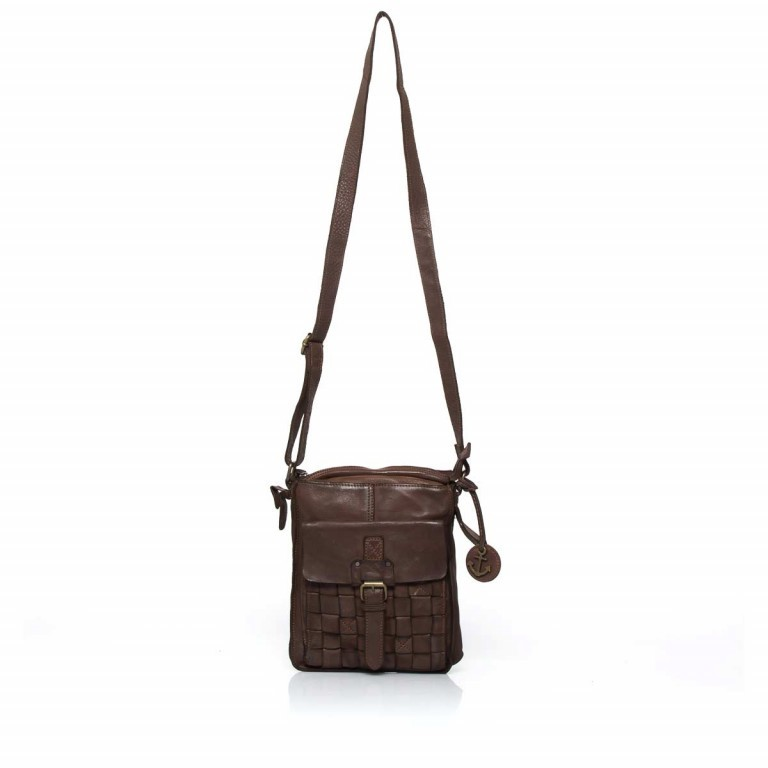 HARBOUR2nd Crossbag Jörmi Brown, Farbe: braun, Manufacturer: Harbour 2nd, Dimensions (cm): 21.0x26.0x6.0, Image 2 of 5