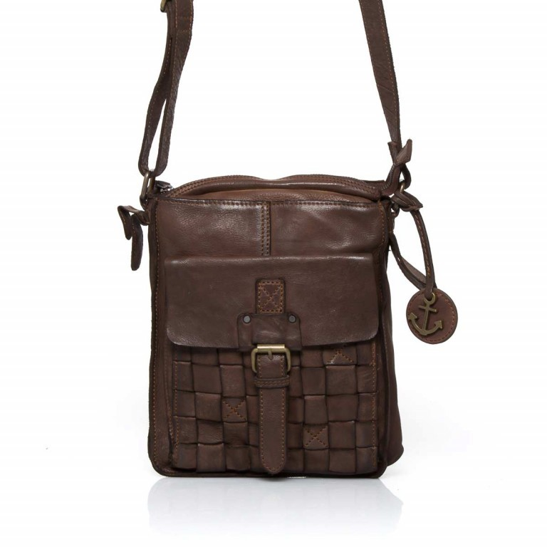 HARBOUR2nd Crossbag Jörmi Brown, Farbe: braun, Marke: Harbour 2nd, Abmessungen in cm: 21.0x26.0x6.0, Bild 1 von 5