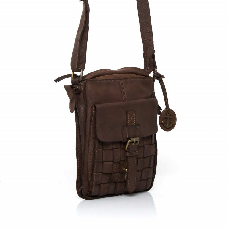 HARBOUR2nd Crossbag Jörmi Brown, Farbe: braun, Manufacturer: Harbour 2nd, Dimensions (cm): 21.0x26.0x6.0, Image 3 of 5