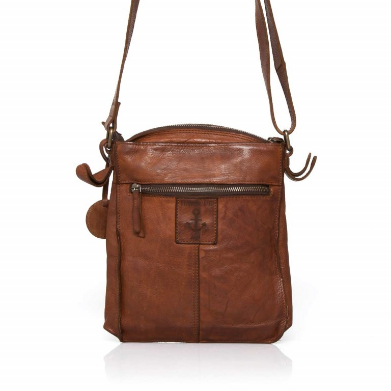 HARBOUR2nd Crossbag Jörmi Cognac, Farbe: cognac, Manufacturer: Harbour 2nd, Dimensions (cm): 21.0x26.0x6.0, Image 5 of 5