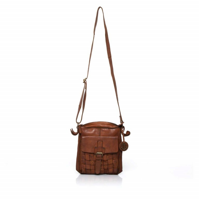 HARBOUR2nd Crossbag Jörmi Cognac, Farbe: cognac, Manufacturer: Harbour 2nd, Dimensions (cm): 21.0x26.0x6.0, Image 2 of 5