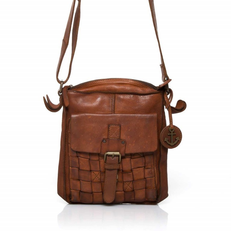 HARBOUR2nd Crossbag Jörmi Cognac, Farbe: cognac, Manufacturer: Harbour 2nd, Dimensions (cm): 21.0x26.0x6.0, Image 1 of 5