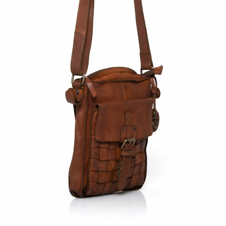 HARBOUR2nd Crossbag Jörmi Cognac, Farbe: cognac, Manufacturer: Harbour 2nd, Dimensions (cm): 21.0x26.0x6.0, Image 3 of 5