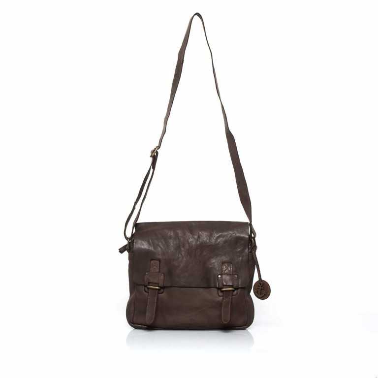 HARBOUR2nd Messenger Bag Funchal Brown, Farbe: braun, Marke: Harbour 2nd, EAN: 4046478022072, Abmessungen in cm: 29.0x25.0x7.0, Bild 2 von 5