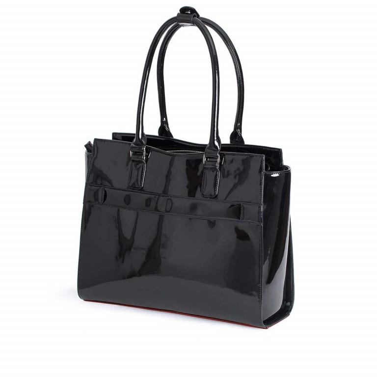 Socha Business Bag Black Mirror, Farbe: schwarz, Marke: Socha, EAN: 4029276048390, Abmessungen in cm: 48.0x32.5x14.0, Bild 2 von 4