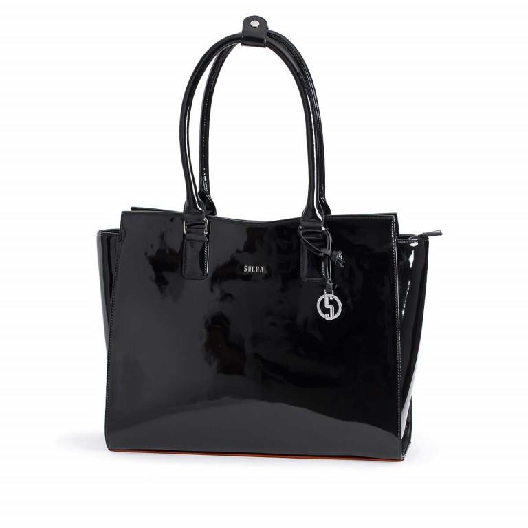 Socha Business Bag Black Mirror, Farbe: schwarz, Marke: Socha, EAN: 4029276048390, Abmessungen in cm: 48.0x32.5x14.0, Bild 1 von 4