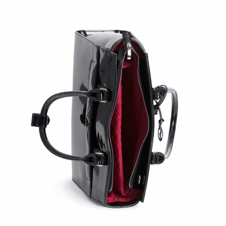 Socha Business Bag Black Mirror, Farbe: schwarz, Marke: Socha, EAN: 4029276048390, Abmessungen in cm: 48.0x32.5x14.0, Bild 3 von 4