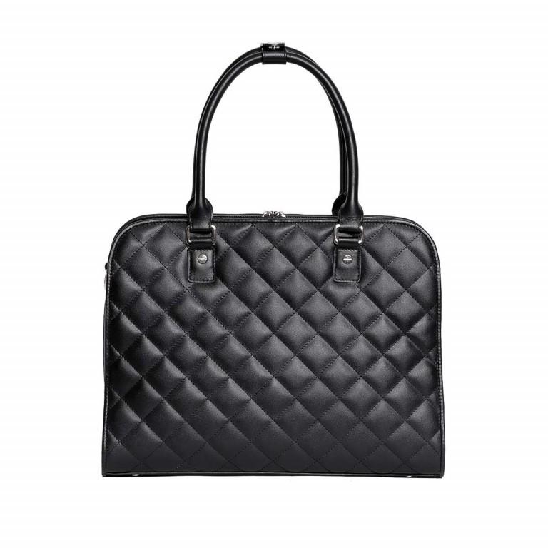 Socha Business Bag Ella Jet Black, Farbe: schwarz, Marke: Socha, EAN: 4029276048420, Abmessungen in cm: 39.0x28.5x9.0, Bild 2 von 5