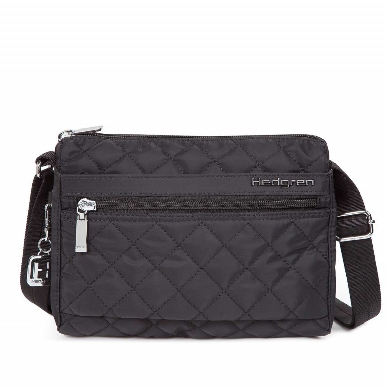 Hedgren Diamond Touch Carina Shoulder Bag Black, Farbe: schwarz, Manufacturer: Hedgren, Dimensions (cm): 23.0x18.0x9.0, Image 1 of 1