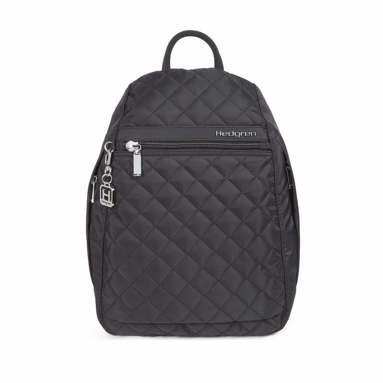 Hedgren Diamond Touch Pat Backpack Black, Farbe: schwarz, Marke: Hedgren, Abmessungen in cm: 24.5x35.0x9.0, Bild 1 von 1