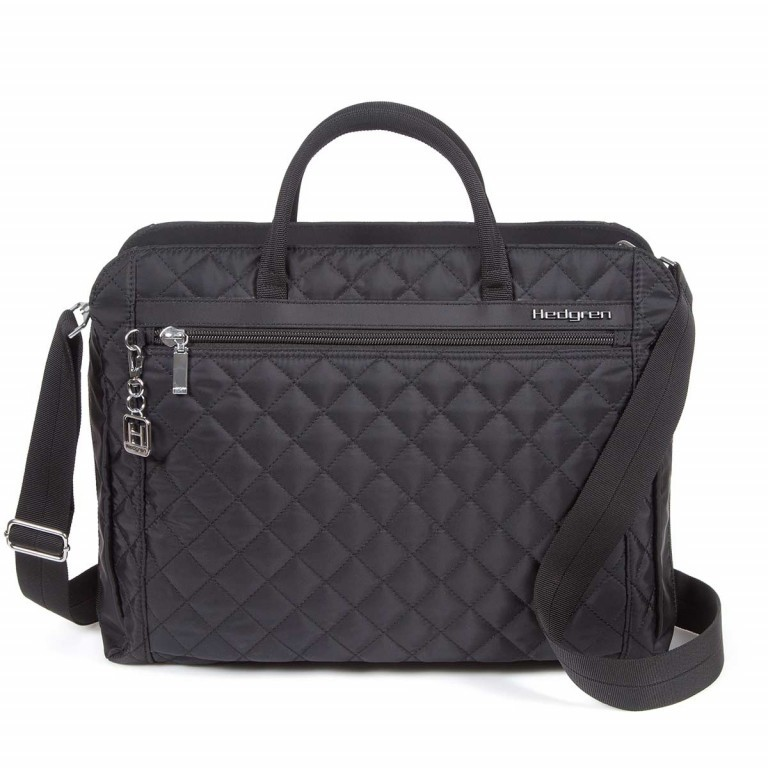 "Hedgren Diamond Touch Pauline Business Bag 15.6"" Black, Farbe: schwarz, Marke: Hedgren, Abmessungen in cm: 40.5x33.5x11.0, Bild 1 von 1"