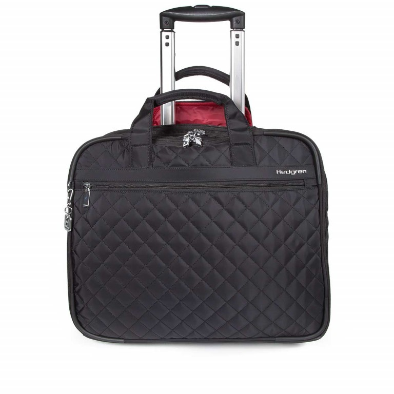 "Hedgren Diamond Touch Cindy Business Trolley 15.6"" Black, Farbe: schwarz, Marke: Hedgren, Abmessungen in cm: 44.0x35.0x18.0, Bild 1 von 1"