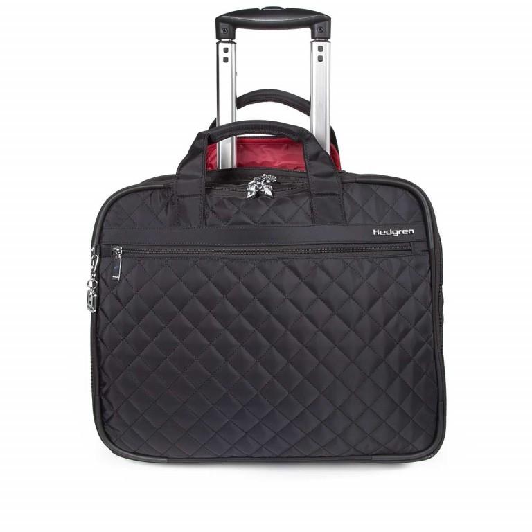 """Hedgren Diamond Touch Cindy Business Trolley 15.6"""" Black, Farbe: schwarz, Marke: Hedgren, Abmessungen in cm: 44.0x35.0x18.0, Bild 1 von 1"""
