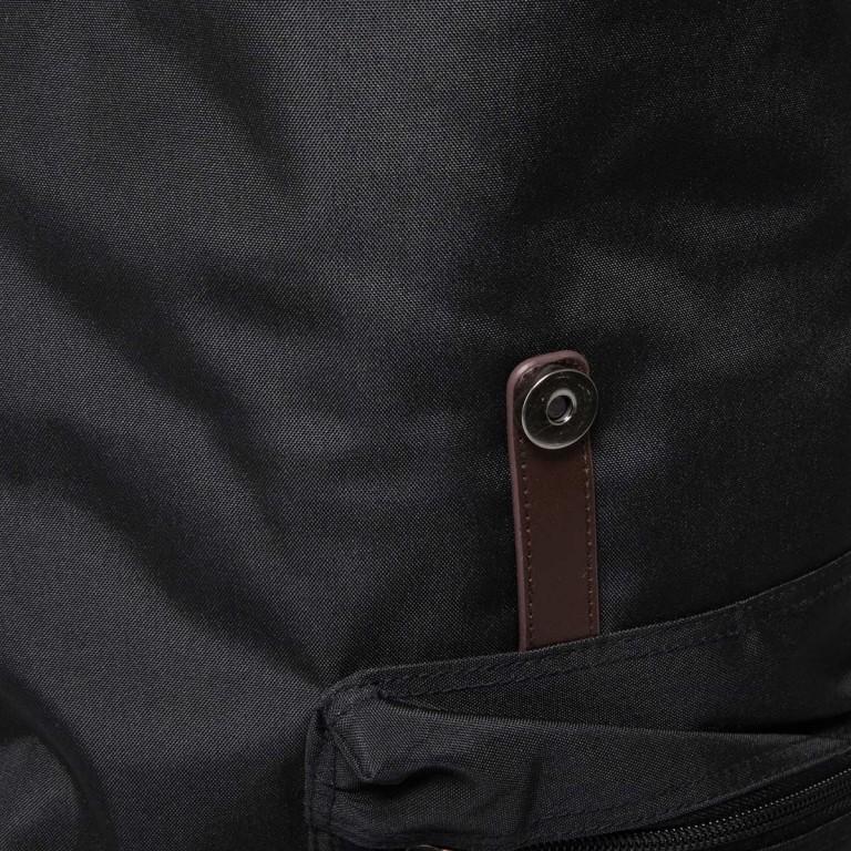 LEONHARD HEYDEN Hamilton Rucksack L Schwarz, Farbe: schwarz, braun, Marke: Leonhard Heyden, EAN: 4025307713206, Abmessungen in cm: 30.0x45.0x14.0, Bild 5 von 6