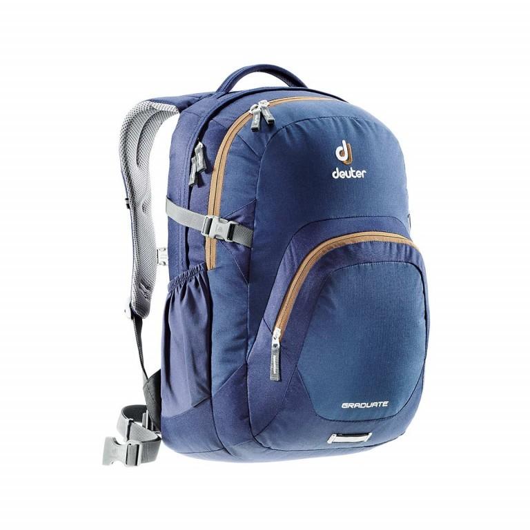 Deuter Graduate Rucksack 28L Midnight Lion, Farbe: blau/petrol, Marke: Deuter, Abmessungen in cm: 33.0x48.0x23.0, Bild 1 von 1