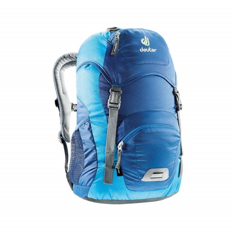Deuter Junior Rucksack 18L Steel Turquoise, Farbe: blau/petrol, Marke: Deuter, Abmessungen in cm: 24.0x43.0x19.0, Bild 1 von 2